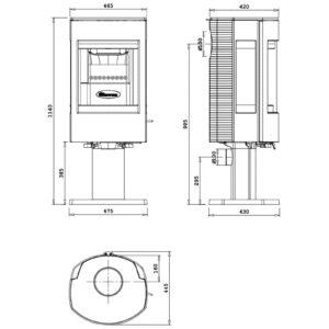 dovre-astroline-4cb-p-met-voet-houtkachel-line_image
